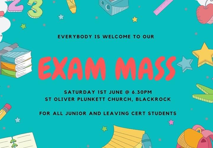 Exam Mass 1st June